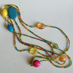 HOBO style beads necklace
